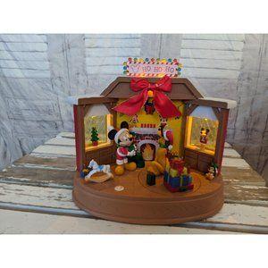 Ruz Pluto Ho Ho Ho Christmas scene animated lights